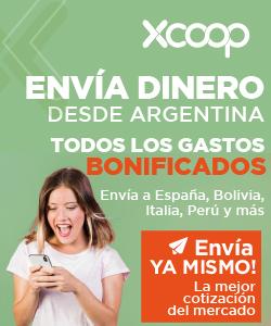 2.1 XCOOP. Enviá dinero